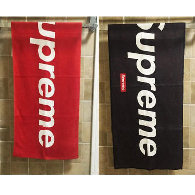 """Supreme"" 80*180cm Design Gym Sports Towels Bath Towel Beach Towel  Best Gift"