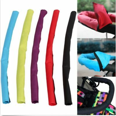 Pram Hand Glove Baby Pushchair Handle Sleeve Oxford Fabric Stroller Bar Cover