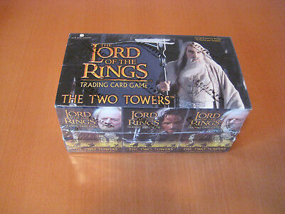 LOTR CCG Starter Deck Box (12 Packs) The Two Towers orginal verschlossen