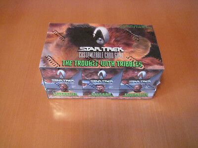 Star Trek CCG Starter Deck Box Trouble with Tribbles orginal verschlossen