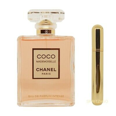 5ml Travel Atomizer & Sample of Chanel Coco Mademoiselle INTENSE