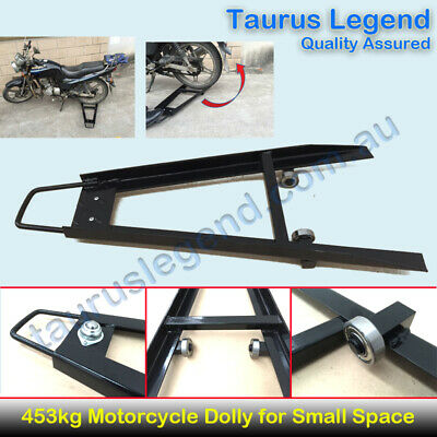 NEW Motorcycle Dolly Motorbike Mover Loader for Shop Garage Made in Taiwan 453kg