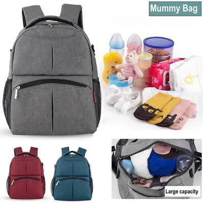 Baby Diaper Backpacks Multifunctional Bag Nappy Changing Mummy Rucksack Bags