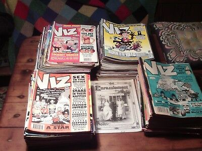 VIZ Magazines Approx. 156 issues between No.37 - 271  OFFERS INVITED