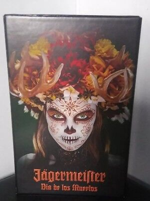 Jagermeister Dia de los Muertos Collectors Box Only...FREE SHIPPING....