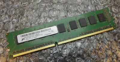 2GB HP Micron 637458-571 PC3L-10600E 1Rx8 DDR3 Unbuffered ECC Server Memory RAM