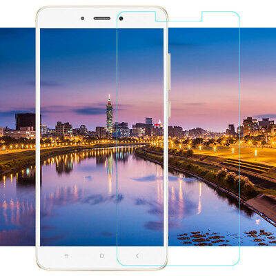 100% Genuine Tempered Glass Screen Protector Clear Film For Xiaomi Redmi 4X  Q2T