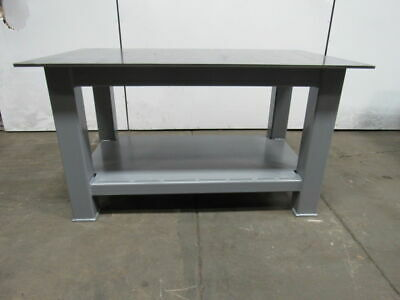 """H.D. 1/2"""" Thick Top Steel Fabrication Layout Welding Table Work Bench 60"""" x 36"""""""