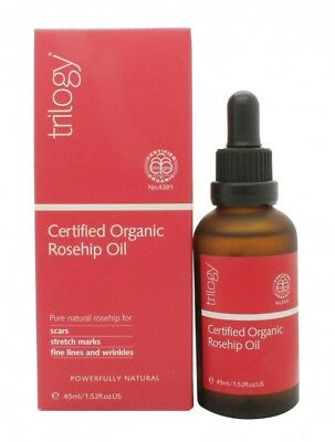 Trilogy Natural Certified Organic Rosehip Oil  - Women's For Her. New
