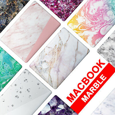 Matte Hard Case Cover For Apple Mac Macbook Air Pro 12 13 15 Marble A1932 A2159