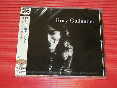 2018 JAPAN SHM CD RORY GALLAGHER Rory Gallagher with Bonus Track