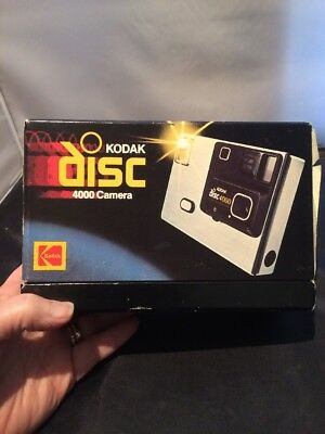 Kodak Disc 4000 Camera in Original box .