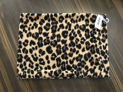 Old Navy Women's- Brand New With Tags Fleece Leopard Neck Warmer