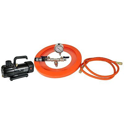 """Best Value Vacs 10.75"""" Vacuum Chamber Lid with Universal Silicone Gasket ..."""