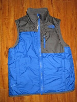 Boys The North Face Reversible insulated vest S 7 8