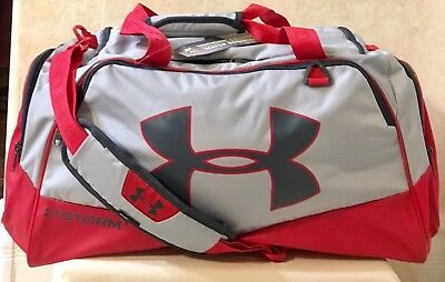 Unisex UA Under Armour Storm Undeniable II Duffel Bag/gym MD Red/Graphite 123967