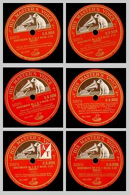 ROYAL PHILHARM. & BEECHAM Mozart: Divertimento in D Major, K. 131  78rpm GS664
