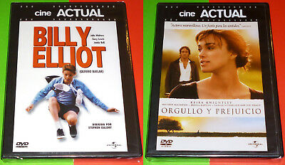 BILLY ELLIOT + ORGULLO Y PREJUICIO Pride and Prejudice - English Español DVD R2