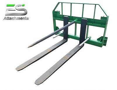 "John Deere Combo- 49"" spear and 48"" pallet forks- JD quick attach, LOCAL PICK-UP"