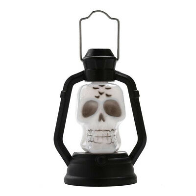 Color Changing Skull Hanging Light Party Decors Glowing In The Dark LED Lantern