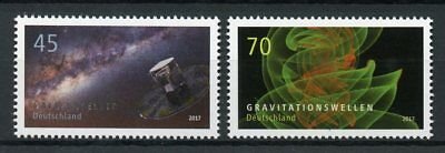 Germany 2017 MNH Astrophysics Gaia Satellite 2v Set Physics Space Science Stamps