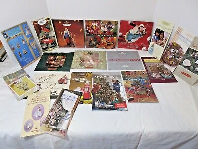LOT OF Keepsake Ornament Dream Books LOT OF HALLMARK ORNAMENT DREAMBOOKS-LOT TWO