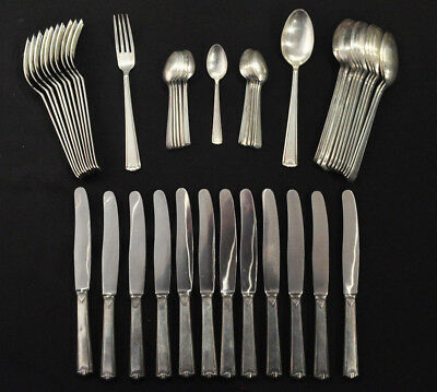 Lot of .800 Silver Flatware For Use Or Scrap 2955 Grams