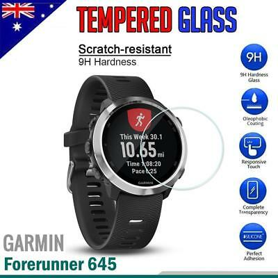Tempered Glass LCD Screen Protector Guard for Garmin Forerunner 645 Music