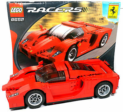 Lego Racers 8652 Ferrari Enzo Racing Car 117 Complete With