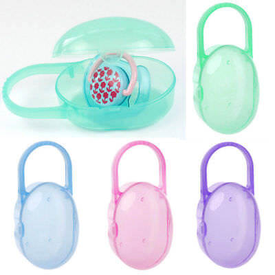 Baby Pacifier Storage Box Infant Soother Holder Dummy Travel Case Gift