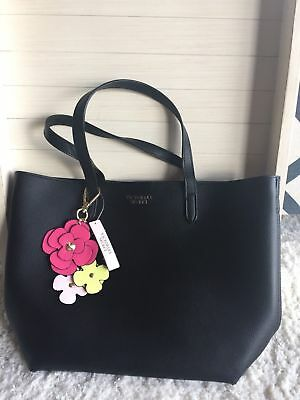 New Victoria S Secret Tease Small Black Tote Bag Crossbody And