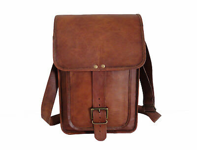ea6cef3eba Vintage Leather Messenger Bag Laptop Satchel Crossbody School Shoulder  Sling Bag