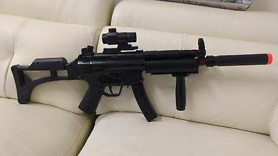 Electric Toy MP5 Machine Gun Electric plastic toy gun Submachine Gun Vibration