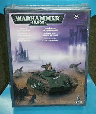 Brand New Sealed Warhammer 40,000 Imperial Guard Chimera model Kit