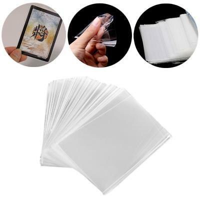 100Pcs/Set Card Sleeve Cards Protector Magic Killers Unsealed Game Sleeves Pop