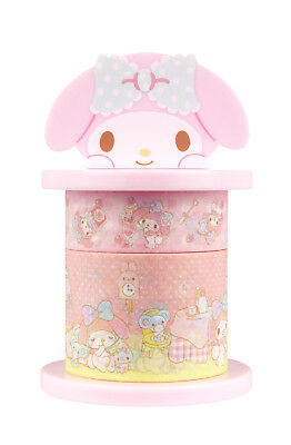 Sanrio My Melody Paper Deco Tape with Holder