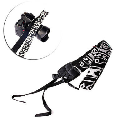 DSLR Belt Strap Sony Panasonic For SLR Shoulder Neck Vintage Camera Canon Nikon