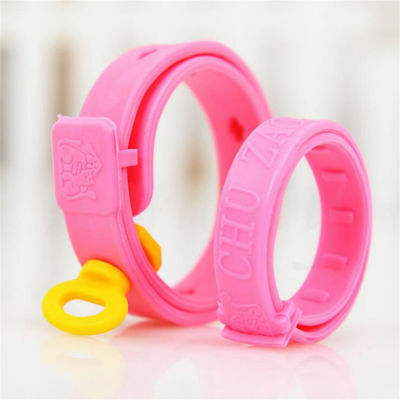 Adjustable Pet Collar Cat Protection Neck Ring Flea Tick Mite Louse Remedy Pink