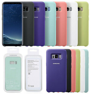 Genuine Original Ultra Thin Silicone Case Cover for Samsung Galaxy S8 S8+ Note8