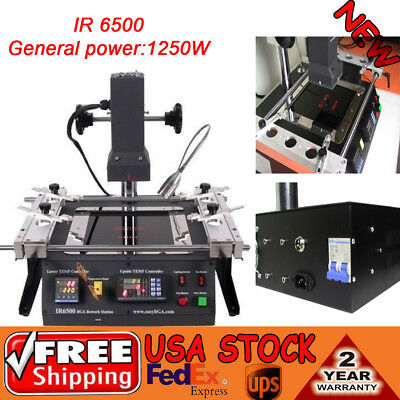 IR6500 IR BGA Rework Station Repair Heating Soldering Welding Machine Welder NEW