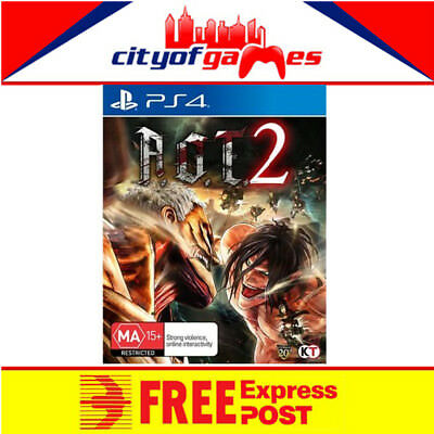 Attack on Titan 2 A.O.T 2 PS4 Game New & Sealed