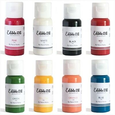 Edible Art Decorative Paint 15ml by Sweet Sticks