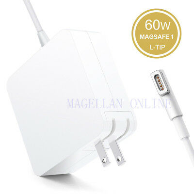 Macbook Pro Charger, 60W L-Tip Power Adapter for Macbook Pro Charger and 13-inch