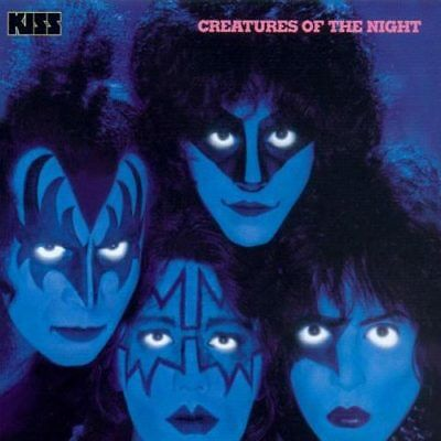 KISS - Creatures Of The Night US HARD ROCK