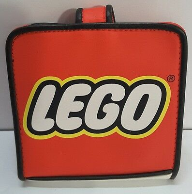 LEGO Red Fold-able Childs or Adult Wallet w/ Snap Closure Free Shipping in USA