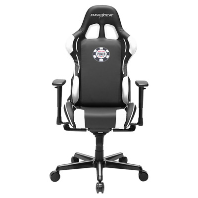 DXRacer OH/FY181/NW/POKER Special Edition WSOP Formula Series Gaming Chair & Cus