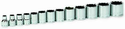 Williams 31925 13-Piece 3/8-Inch Drive Shallow 12 Point Socket Set