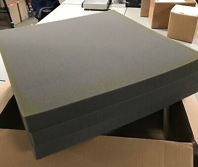 Pick and Pack Foam Sheets, 24x24x2, box of 6 sheets, used