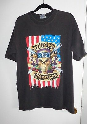 Vintage Original T-Shirt Xl Guns N' Roses Use Your Illusion 1990's Tour