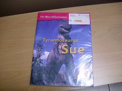 TYRANNOSAURUS SUE bookcase series textbook for 4th class, vgc Ireland school